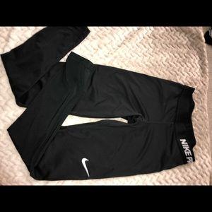 Nike pro warm leggings